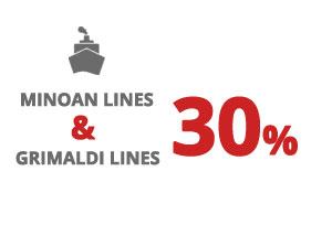 Fähren nach Italien - Minoan Lines 2021 – Grimaldi Lines-Minoan Lines Kombinachlass